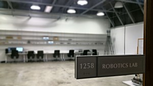 IRL's motion capture arena