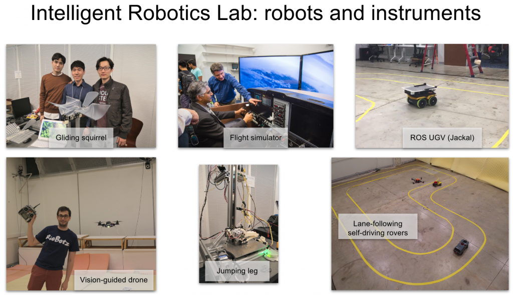 Robots and Instruments